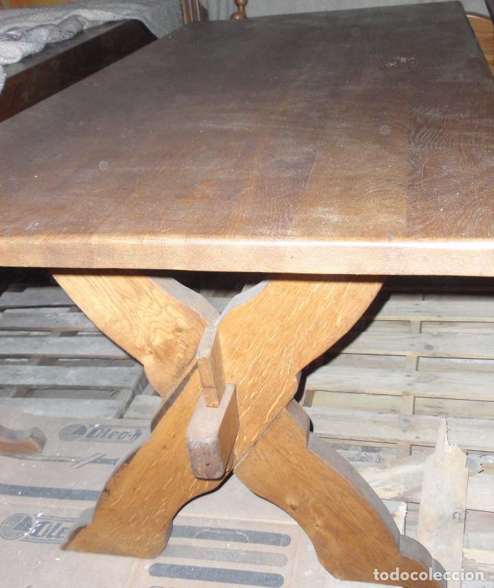 mesa antigua y restaurada para comedor, cocina - Comprar Mesas ...