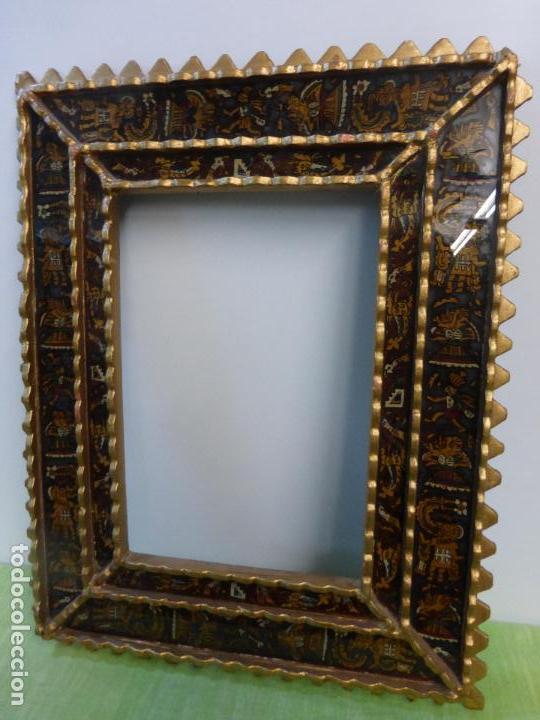 antiguo marco colonial cuzqueño para espejo-vid - Comprar Marcos ...