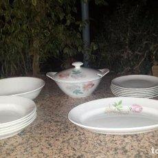 Antigüedades: ANTIGUA VAJILLA, SELLADA SAN CLAUDIO. Lote 62698320