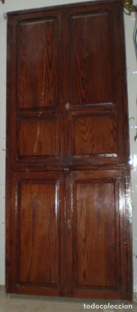 Antiguas puertas de alacena en madera de mobila comprar - Puertas de madera antiguas ...
