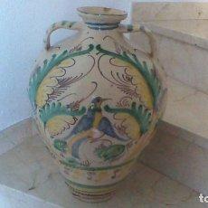 Antigüedades: CANTARO DE PUENTE DEL ARZOBISPO. AÑO 1887. LAÑADO. 47 CM. DE ALTURA.. Lote 62739256