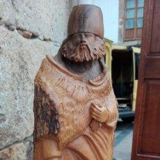 Antigüedades: TALLA DE MADERA DE OLIVO. Lote 62744132