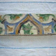 Antigüedades: AZULEJO SIGLO XVI DE TRIANA. Lote 62919572