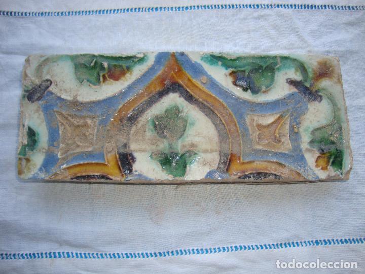 AZULEJO SIGLO XVI DE TRIANA (Antigüedades - Porcelanas y Cerámicas - Triana)