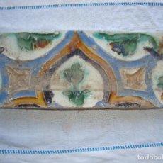 Antigüedades: AZULEJO SIGLO XVI DE TRIANA. Lote 62919736