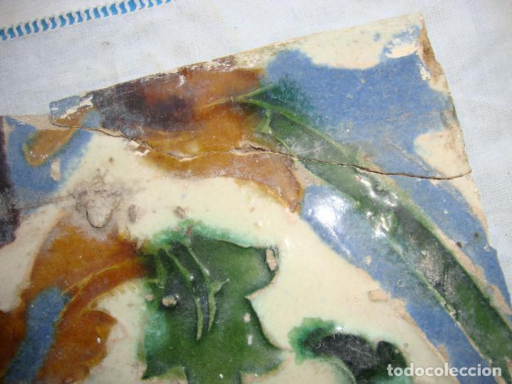 Antigüedades: Azulejo siglo XVI de Triana - Foto 2 - 62920120