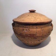 Oggetti Antichi: SOPERA DE CERAMICA POPULAR CATALANA.. Lote 62935184