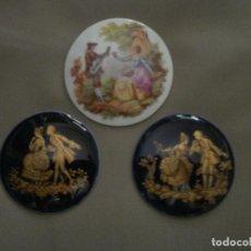 Antigüedades: PLACAS DE PORCELANA. Lote 62976808