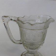 Antigüedades: JARRA EN CRISTAL DE SANTA LUCIA - CARTAGENA. Lote 63032576