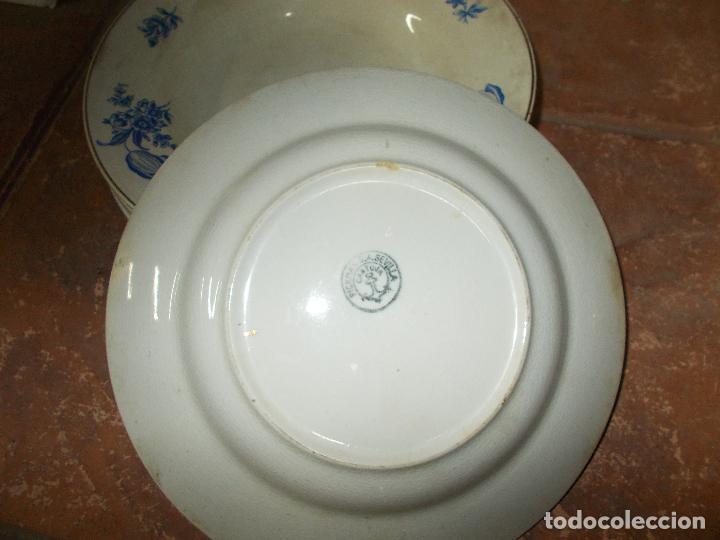 Antigüedades: Vajilla de La Cartuja - Foto 8 - 47868186
