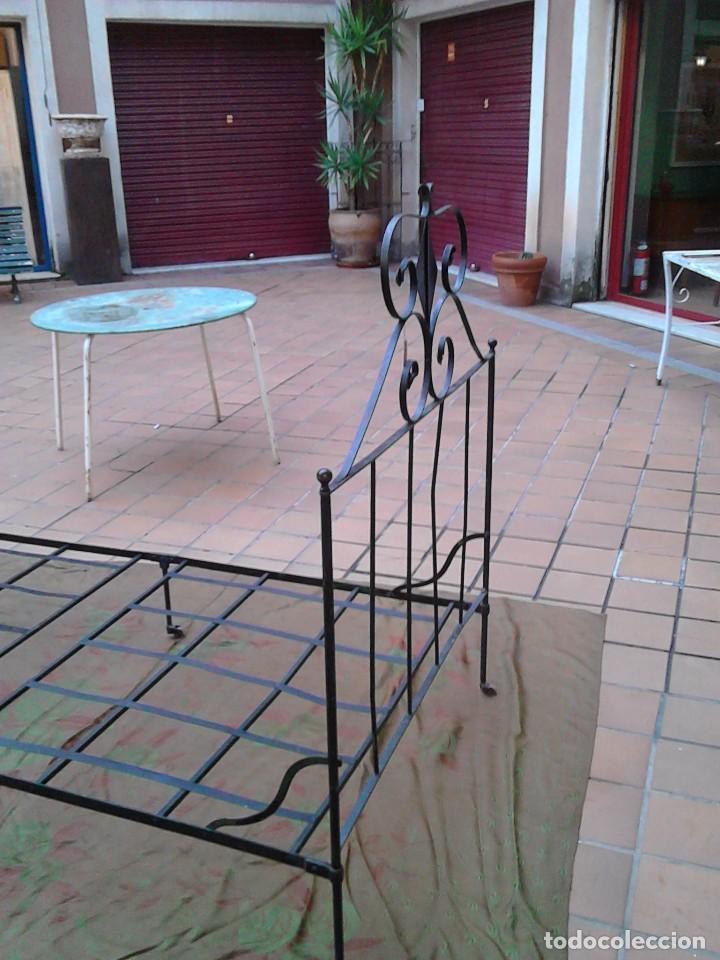 Antigüedades: Cama de hierro - Foto 3 - 63133804
