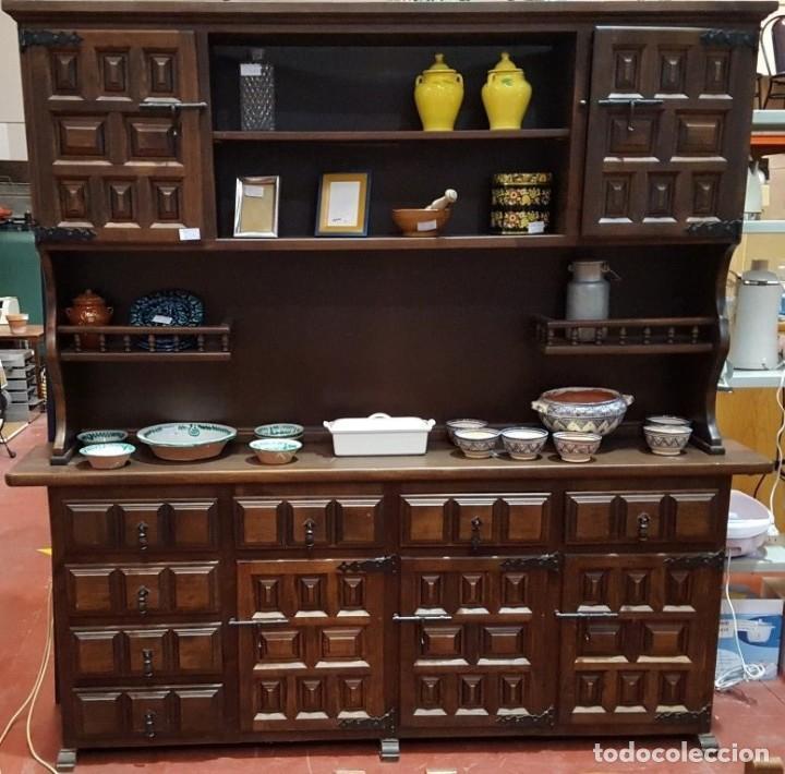 Mueble de sal n castellano comprar aparadores antiguos - Muebles castellanos antiguos ...