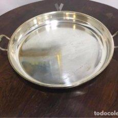 Antigüedades: BANDEJA DE ALPACA GRANDE. Lote 63171236