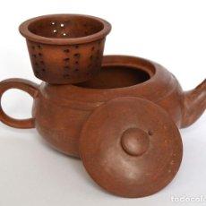 Antigüedades: TETERA JAPONESA TERRACOTA. Lote 63172656