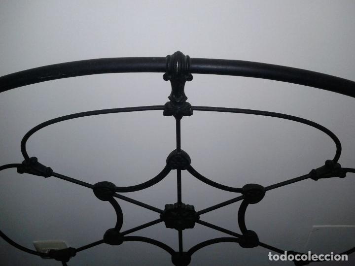 Antigüedades: cabezal cama de hierro - Foto 3 - 63289888