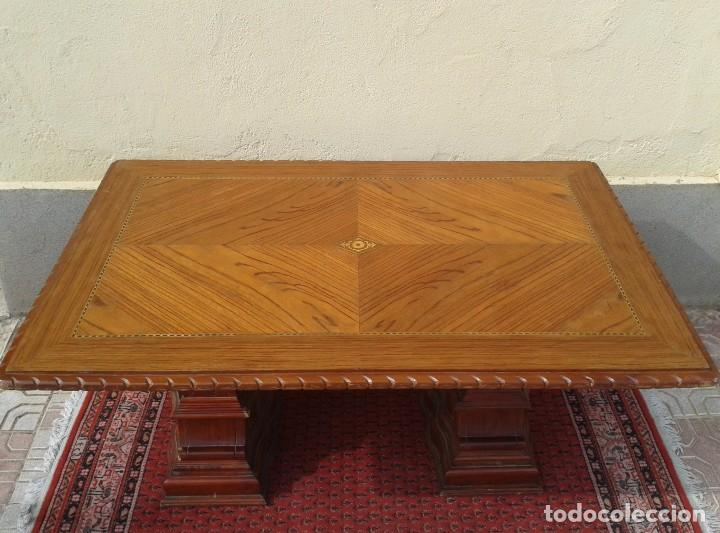 mesa de salón antigua, mesa comedor antigua, me - Comprar Mesas ...