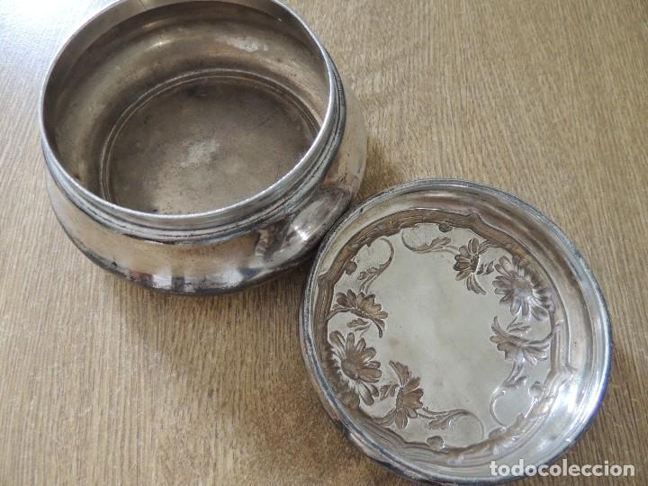 Antigüedades: joyero wallace silver co siglo XIX numerado W7810 año 1879 - Foto 5 - 63314764