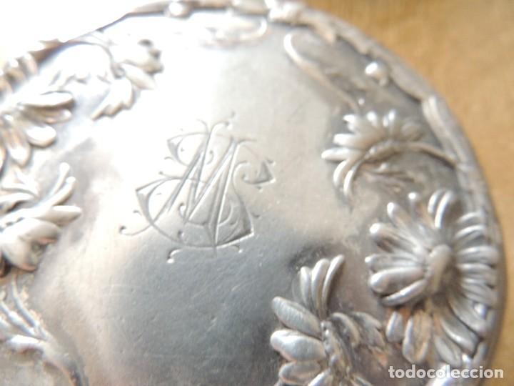 Antigüedades: joyero wallace silver co siglo XIX numerado W7810 año 1879 - Foto 6 - 63314764
