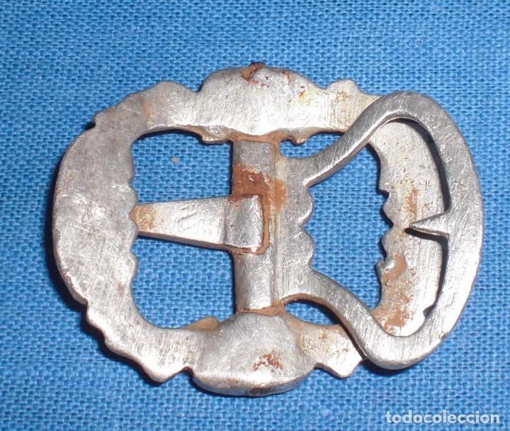 Antigüedades: Antigua hebilla de zapato plata siglo XVII - Foto 2 - 63321680