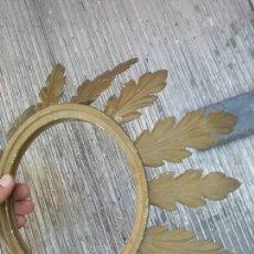 Antigüedades: LAMPARA O ESPEJO TIPO SOL. Lote 63333560