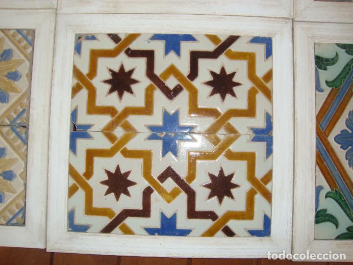 Antigüedades: Lote de parejas de azulejos (Triana) - Foto 3 - 63384748