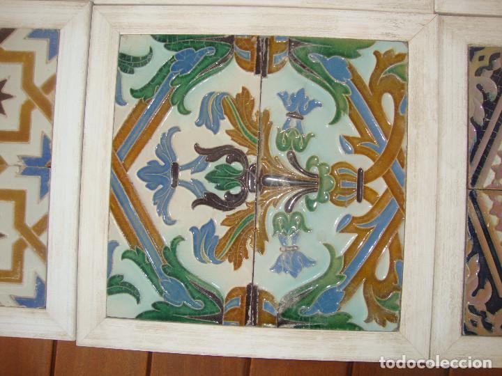 Antigüedades: Lote de parejas de azulejos (Triana) - Foto 4 - 63384748
