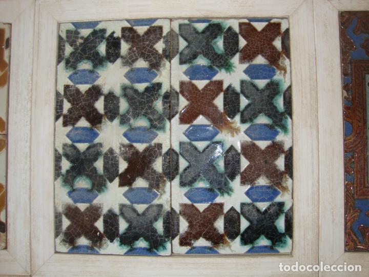 Antigüedades: Lote de parejas de azulejos (Triana) - Foto 7 - 63384748