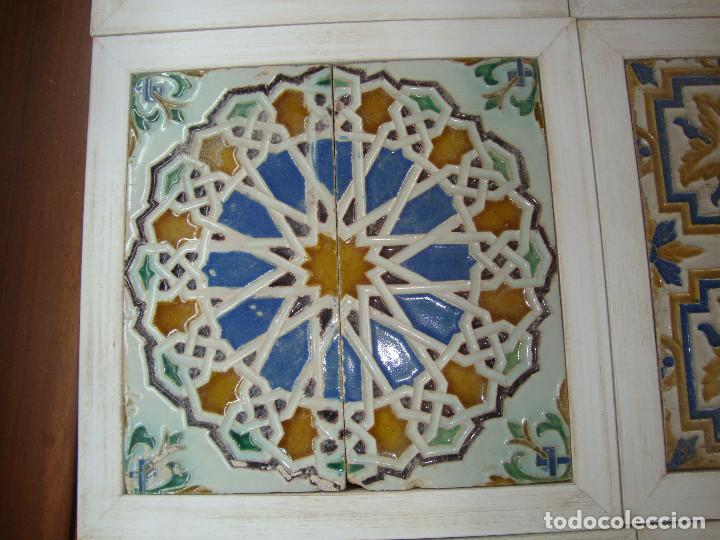Antigüedades: Lote de parejas de azulejos (Triana) - Foto 9 - 63384748