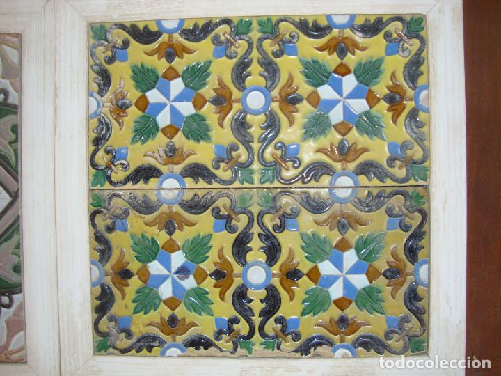 Antigüedades: Lote de parejas de azulejos (Triana) - Foto 12 - 63384748