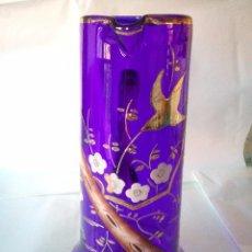 Antiquités: JARRA ISABELINA AZUL COBALTO. Lote 63412356