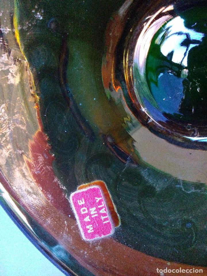 Antigüedades: Jarra cristal de murano verde y oro - Foto 8 - 63412976