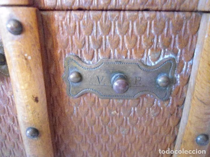 Antigüedades: PAREJA DE ANTIGUOS COFRES - Foto 2 - 63453868