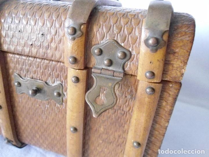 Antigüedades: PAREJA DE ANTIGUOS COFRES - Foto 9 - 63453868