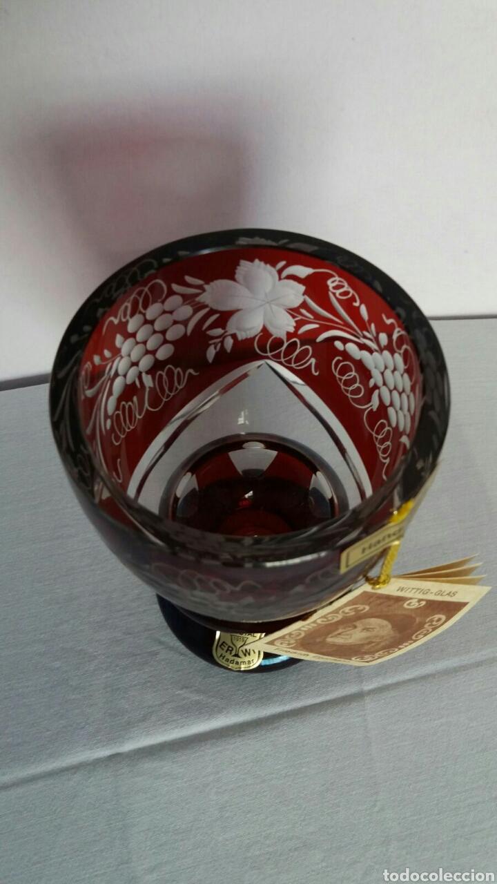 Antigüedades: PRECIOSA COPA DE BOHEMIA - Foto 2 - 63455492
