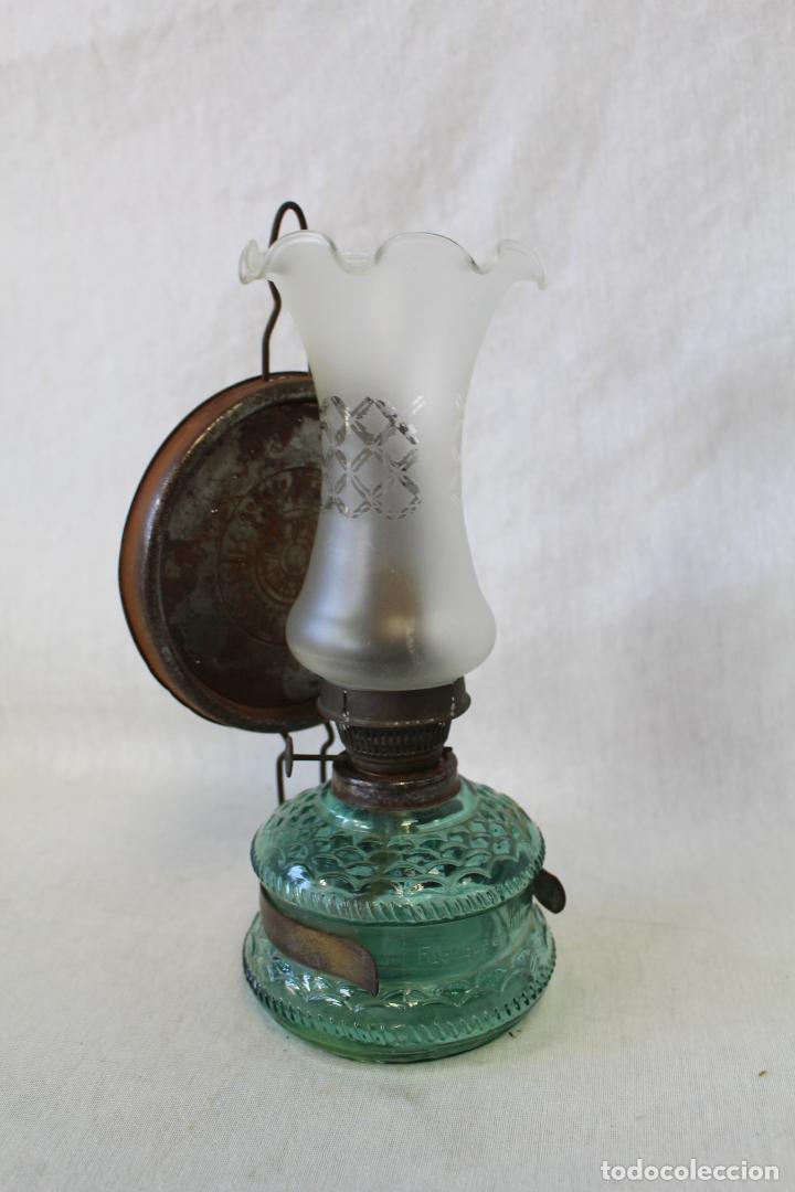 Antigüedades: quinque de cristal - Foto 5 - 63514436