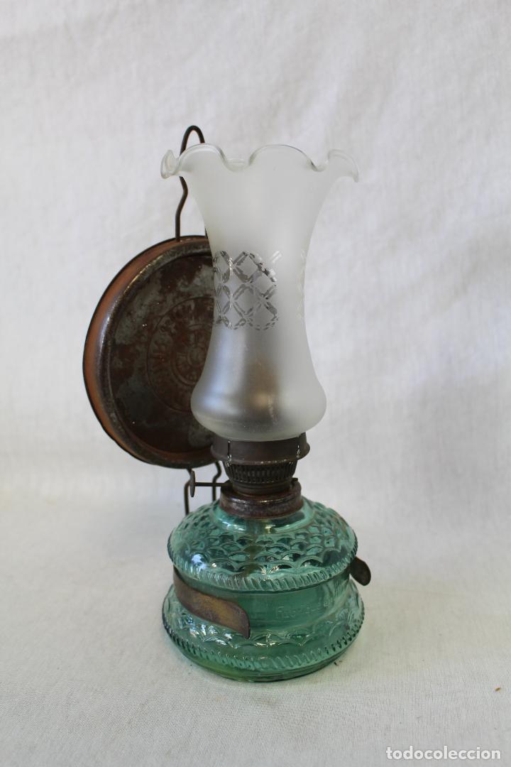 Antigüedades: quinque de cristal - Foto 6 - 63514436