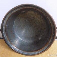 Antigüedades: TRASTOS VIEJOS PUCHERO MUY ANTIGUO DE COBRE EL QUE VES. Lote 63531968