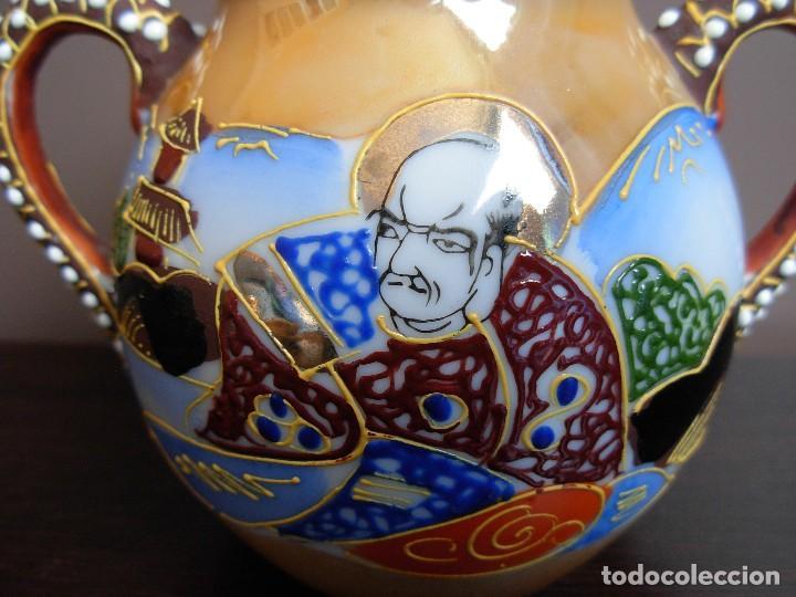 Antigüedades: Juego de te japonés de dos servicios. Con sello - Foto 7 - 63535388
