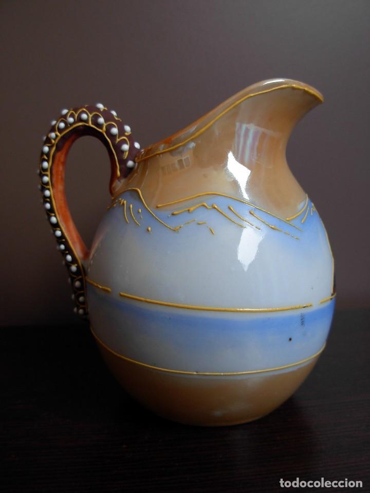 Antigüedades: Juego de te japonés de dos servicios. Con sello - Foto 10 - 63535388