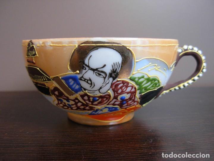 Antigüedades: Juego de te japonés de dos servicios. Con sello - Foto 11 - 63535388