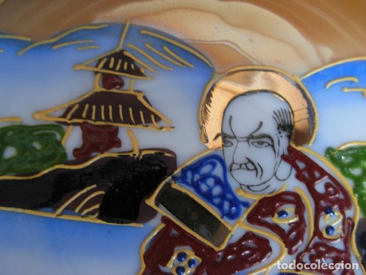 Antigüedades: Juego de te japonés de dos servicios. Con sello - Foto 14 - 63535388