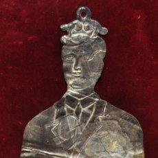 Antigüedades: EXVOTO EN PLATA DEL SIGLO XIX. RELIGIOSO. ORFEBRERIA. Lote 63562656