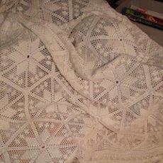 Antigüedades: COLCHA CROCHET INDIVIDUAL. Lote 63610303