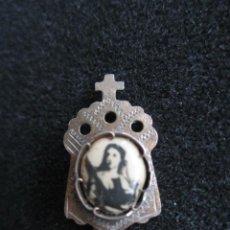 Oggetti Antichi: ANTIGUO BROCHE RELIGIOSO. VIRGEN.. Lote 63625919