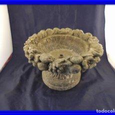 Antigüedades: MACETERO DE PIEDRA PARA JARDIN O TERRAZA. Lote 73672645
