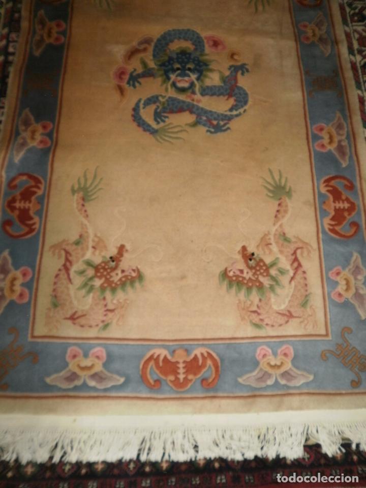Antigüedades: ALFOMBRA CHINA. 1,5 CM DE GROSOR - Foto 2 - 63673655