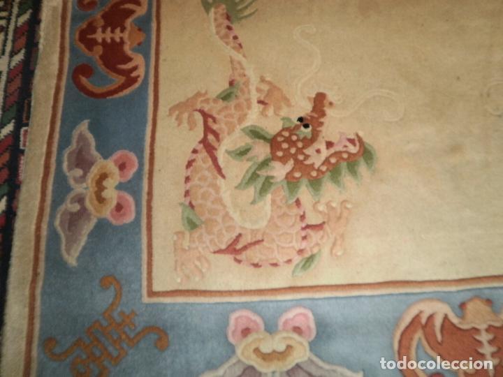 Antigüedades: ALFOMBRA CHINA. 1,5 CM DE GROSOR - Foto 4 - 63673655