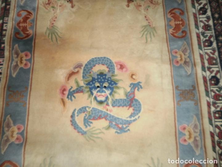 Antigüedades: ALFOMBRA CHINA. 1,5 CM DE GROSOR - Foto 5 - 63673655