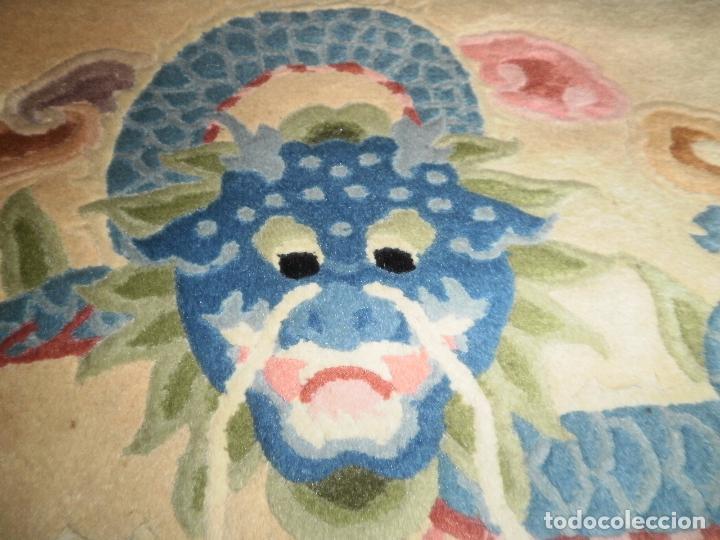 Antigüedades: ALFOMBRA CHINA. 1,5 CM DE GROSOR - Foto 6 - 63673655