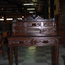 Antigüedades: MESA DESPACHO RENACIMIENTO. REF. 5912. Lote 63682775